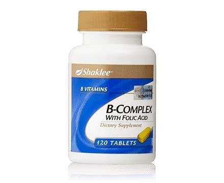 Vitamin B Complex Yang Bagus Vitamin Shaklee Bagus Untuk Kesihatan