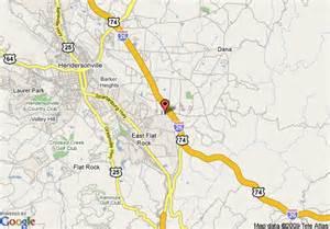 flat rock carolina map map of inn express hendersonville flat rock flat rock