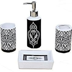 Black And White Damask Bathroom Accessories 1000 Ideas About Damask Bathroom On Bathroom Sets Megan Hess And White Damask