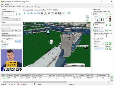 cctv layout design software free cctv design software