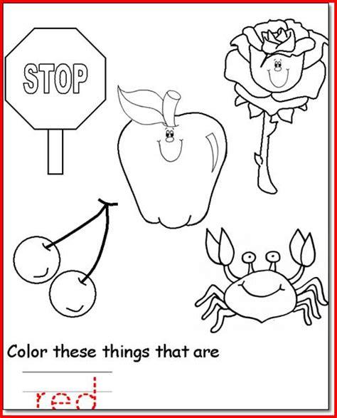 Color Learning Pages For Toddlers L L L L L L L L L L L L