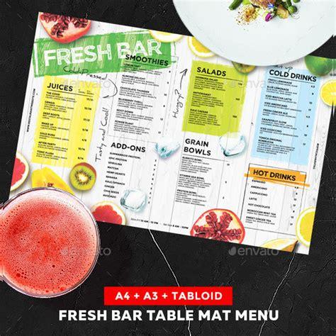 23 Drinks Menu Templates Free Premium Download Juice Menu Template