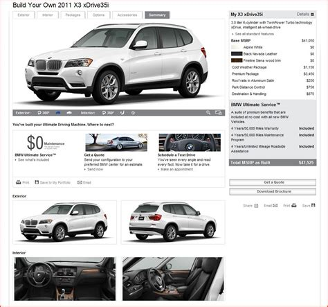 Bmw Usa Build by Pricing Is Up On Build Your Own Bmwusa Xoutpost