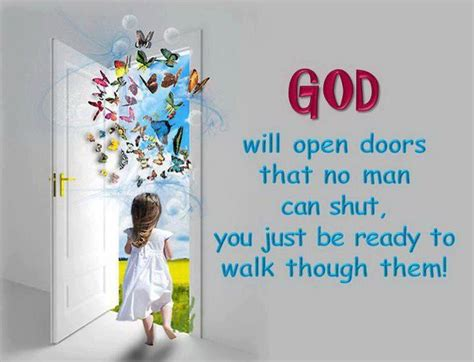 god will open doors books worth reading