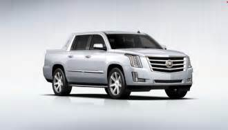 Cadillac Ext 2015 2015 Cadillac Escalade Ext Announced Gm Authority