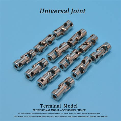 5mm X 6mm Metal Universal U Joint Steering Coupling Connector Am16 rc boat metal cardan joint gimbal couplings universal joint for 2 2mm 3 2 3mm 3 3mm 4 3mm 4 3