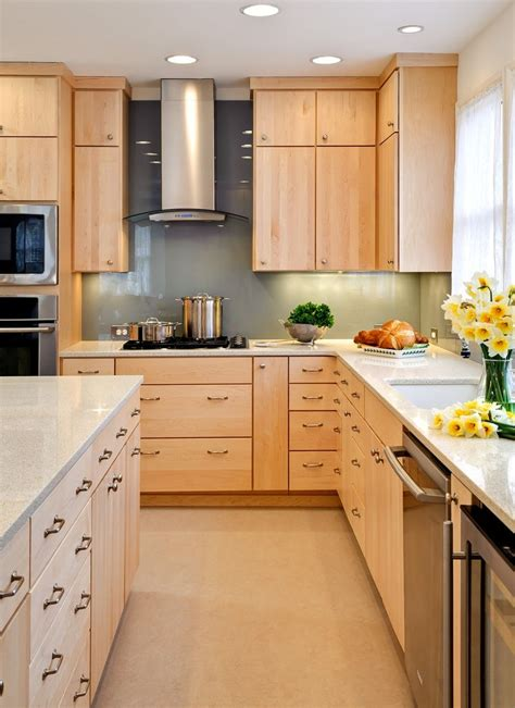maple colored kitchen cabinets modern birch kitchen cabinets google search rehab idea