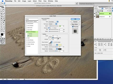 tutorial photoshop mac adobe photoshop very simple tutorial sand drawing