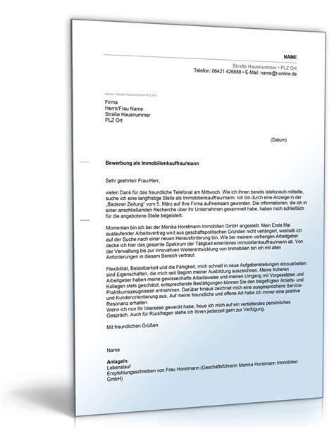 Perfekte Bewerbung Immobilienkaufmann Anschreiben Bewerbung Immobilienkauffrau Immobilienkaufmann De Bewerbung