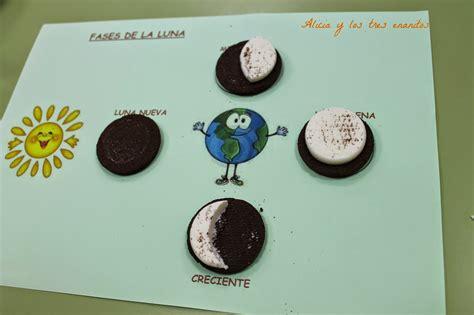 ejemplos de maqueta para las fases lunares biblioteca uniovi fases de la luna con galletas oreo