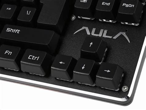 Metoo Mechanical Gaming Keyboard Led 104 Key Blue Switch Murah aula f2012 professional blue axis usb wired blue switch