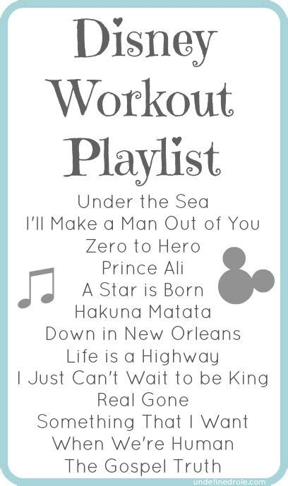 List Of Detox Songs by A List Of Disney Songs Classic New To Workout To Or