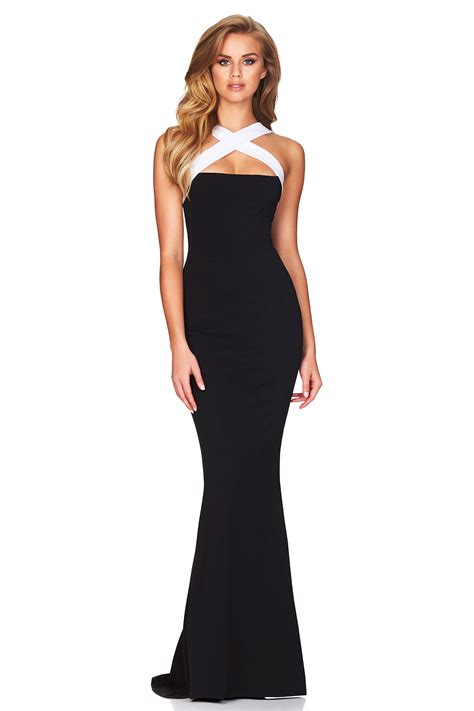 Dress Viva2 by Black White Viva 2 Way Gown Buy Designer Dresses