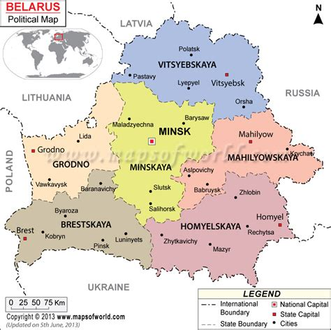 political map of belarus map of belarus cities search maps