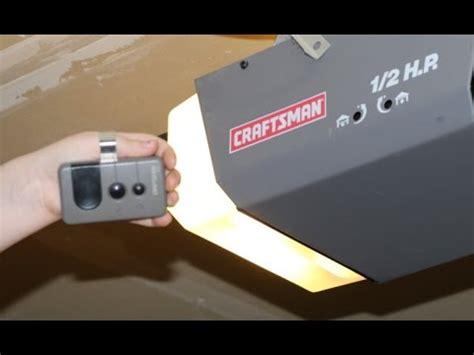 Craftsman Garage Door Opener Remote Quit Working How To Program Craftsman Garage Door Opener Remote Diy 1 2