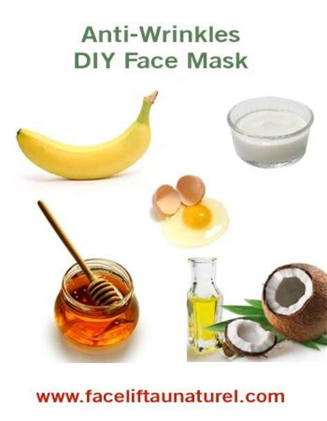 diy anti wrinkle mask banana and honey mask benefits