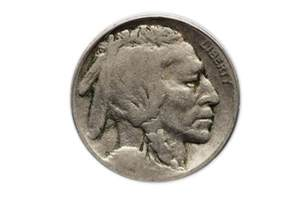 my buffalo nickel has no date how much is it worth