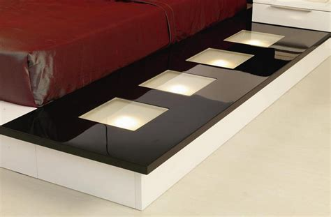 modrest impera contemporary lacquer platform bed beds