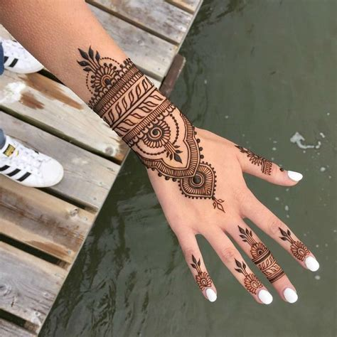 henna tattoo real 32 best real henna style tattoo images on pinterest