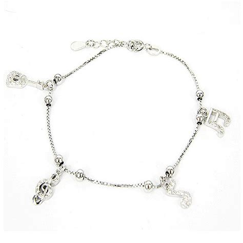 Gelang Bangle Zircon Perak Silver 925 Lapis Emas Putih Asli Original 1 d gelang tangan silver lapis emas putih gtlmn13800 dinomarket belanja bebas