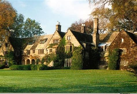 Edsel Ford House by Edsel And Eleanor Ford House Tudor Revival Style