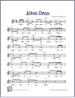 drum chords tutorial aiken drum free sheet music lead sheet