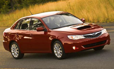 2009 Subaru Impreza Sedan car and driver