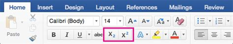 format footnotes word mac 2016 format text as superscript and subscript in word 2016 and
