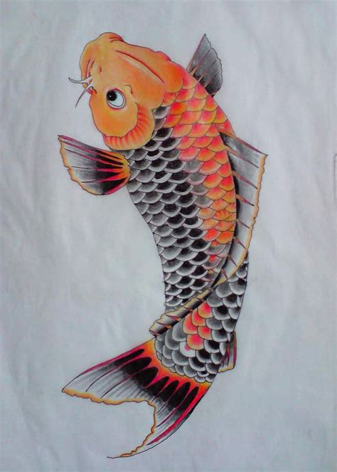 orange koi fish tattoo design 120 best images about koi fish designs on