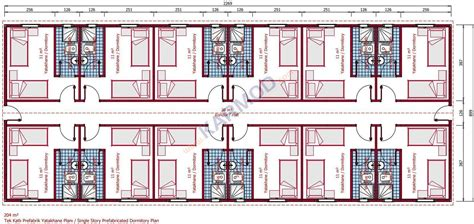 Cabin Floor karmod 204 m 178 modular dormitory accommodation building