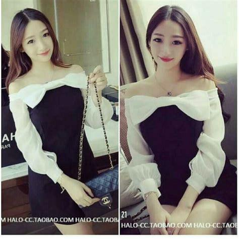 Sabrina Blouse Baju Atasan Atasan Wanita Baju Sabrina Denim baju atasan wanita model sabrina lengan panjang cantik terbaru