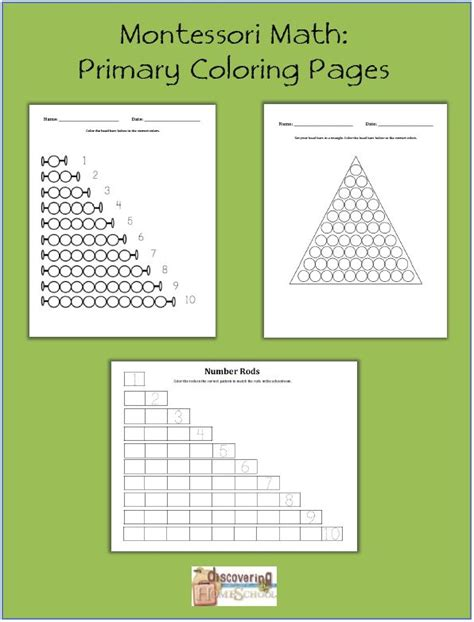 montessori math worksheets montessori on pinterest 55 best images about montessori math materials on