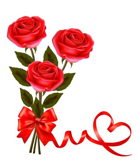 roses for valentines png pictures and clipart