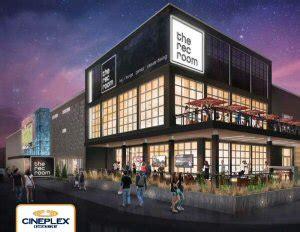 The Room Canada Cineplex Introduces The Rec Room Canada S Premier Social