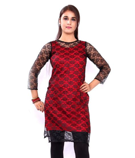 net kurti pattern images gmi black net plain round neck kurti buy gmi black net