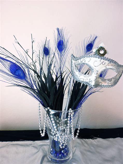 masquerade centerpiece ideas bad lighting but you get