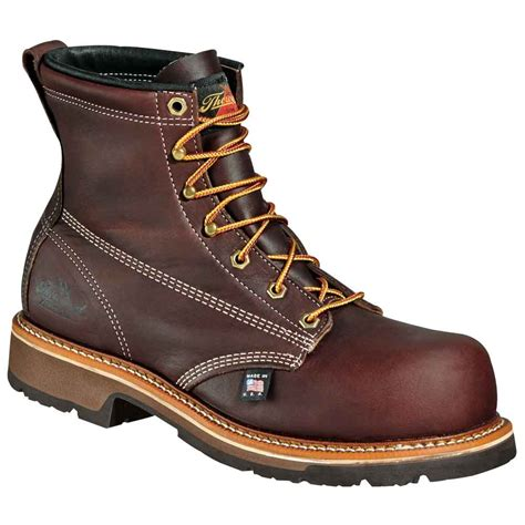 safety toe boots thorogood emperor 6 inch composite safety toe boot