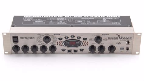 behringer rack behringer bass v amp pro rack mount guitar effects