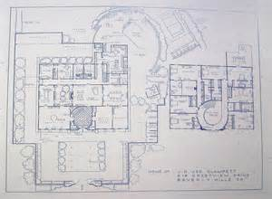 beverly mansion floor plans house from beverly hillbillies tv show blueprint by