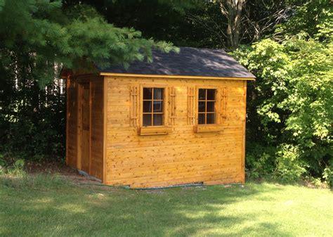 Garden Sheds Wood by Garden Sheds Cedar Wood Structures