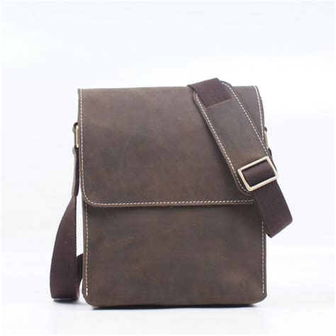 Best Handmade Leather Bags - brand design 100 genuine leather bag handmade shoulder