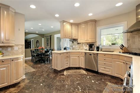 which wood is best for kitchen cabinets kitchens with light wood cabinets