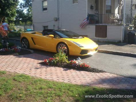 Lamborghini Nj Lamborghini Gallardo Spotted In Clifton New Jersey On 07