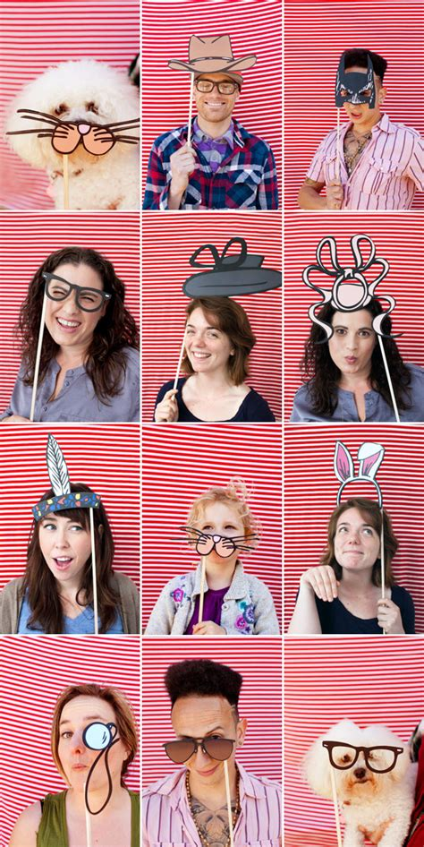photo booth ideas 40 diy photo props