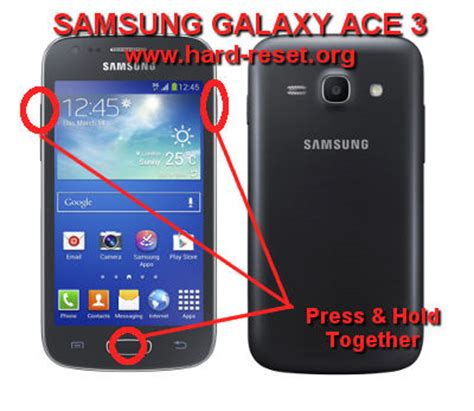reset samsung ace how to easily master format samsung galaxy ace 3 gt s7270