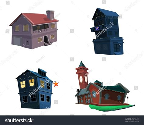 different kinds of house music different types houses stock illustration 70736431 shutterstock