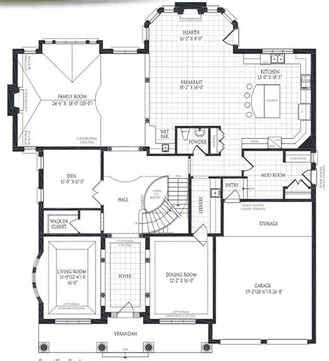 family home floor plan family home with sophisticated interiors home bunch