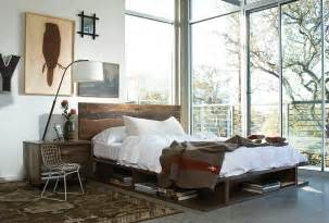 Nightstand Modern 30 Ingenious Wooden Headboard Ideas For A Trendy Bedroom