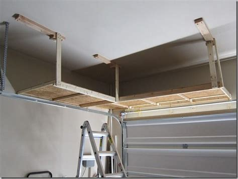 Garage Storage Ceiling Do It Yourself by Garage Doors Do It Yourself And Shelving On