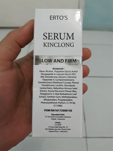 Serum Ertos Untuk Kulit Berminyak review erto s serum kinclong glow and firm til cantik